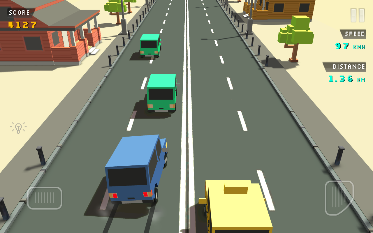 Blocky Traffic Racer Screenshot 3