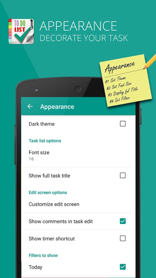 TODO LIST – Task Reminder PRO Screenshot 5