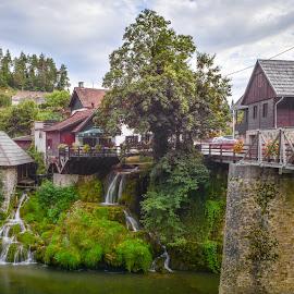 Rastoke by Marcin Frąckiewicz - City,  Street & Park  Historic Districts ( rastoke, croatia )
