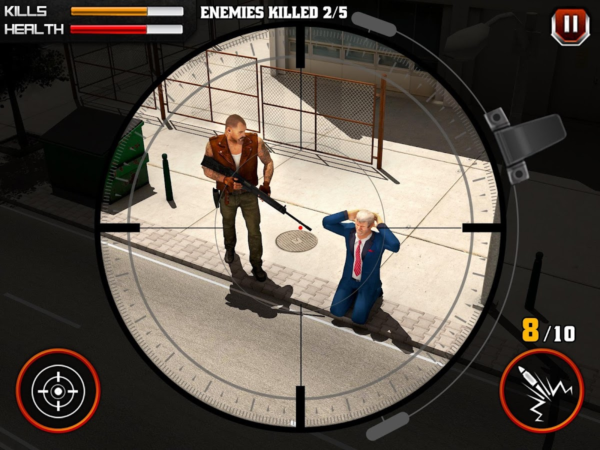 Gangster Escape Shooter 3D Screenshot 8