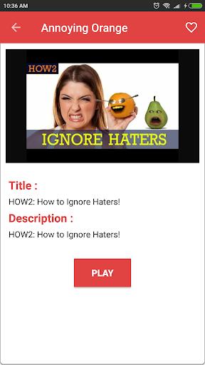 Annoying Orange Videos For PC