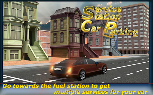 Service Station Car Parking - screenshot