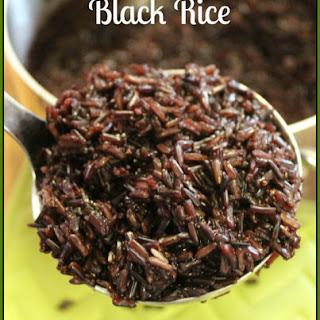 Black Rice Recipes