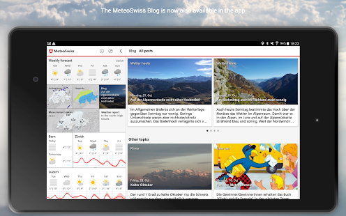 Download MeteoSwiss APK for Android Kitkat
