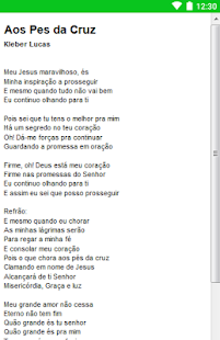 Kleber Lucas Letras - screenshot