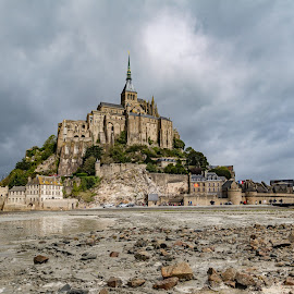 Mont saint michel by Danny Schurgers - Buildings & Architecture Public & Historical ( hdr, france, normandy )