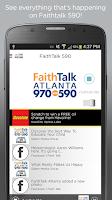 Screenshot of Faith Talk Atlanta