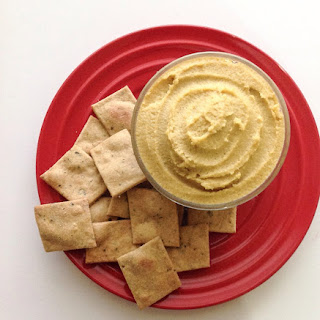 Herb Crackers and Cashew Cheese Spread