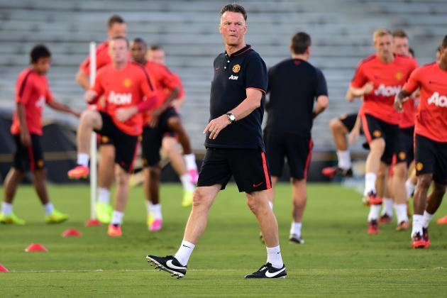 Louis van Gaal is laying ground for next season at Man Utd