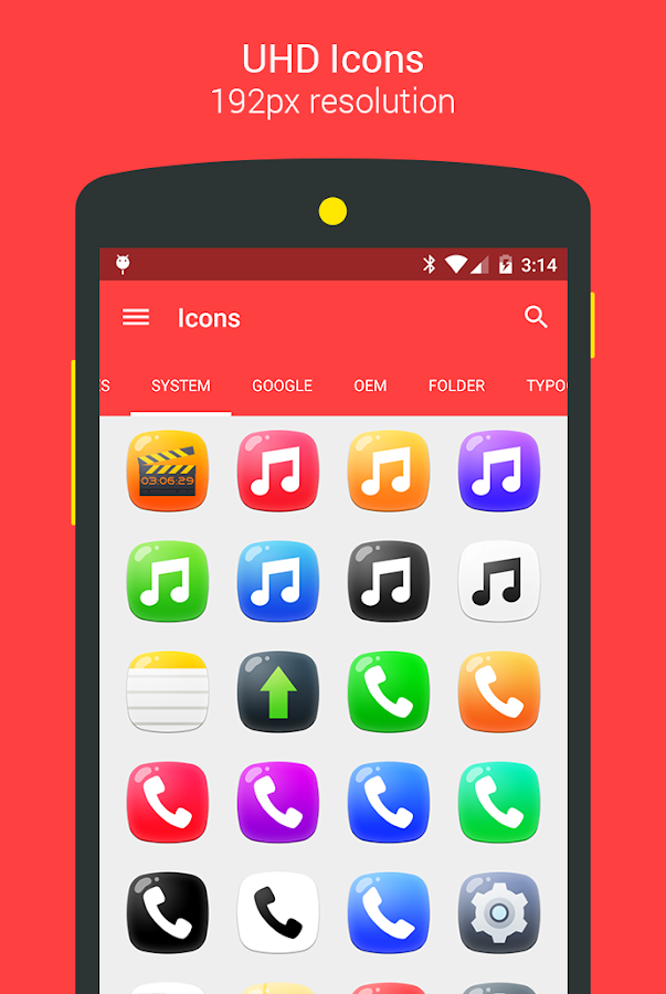 Candy - icon pack Screenshot 15