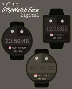 myTime StopWatch Face Digital