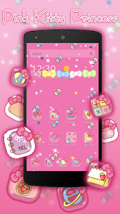 App Pink Princess Kitty APK for Windows Phone