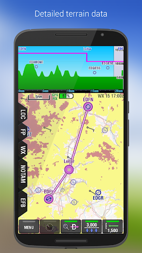 PocketFMS EasyVFR for Pilots - screenshot