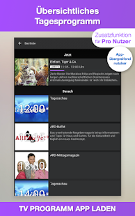 TV Programm App TV.de Live TV Screenshot