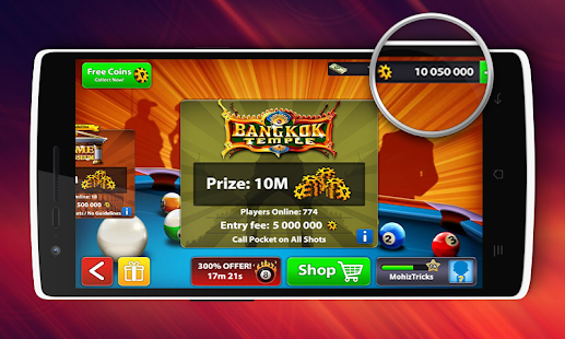 Free Coins 8 Ball Pool Tool - Guide APK for Windows 8