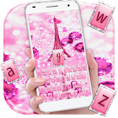 APK App Love Eiffel Keyboard Theme for BB, BlackBerry