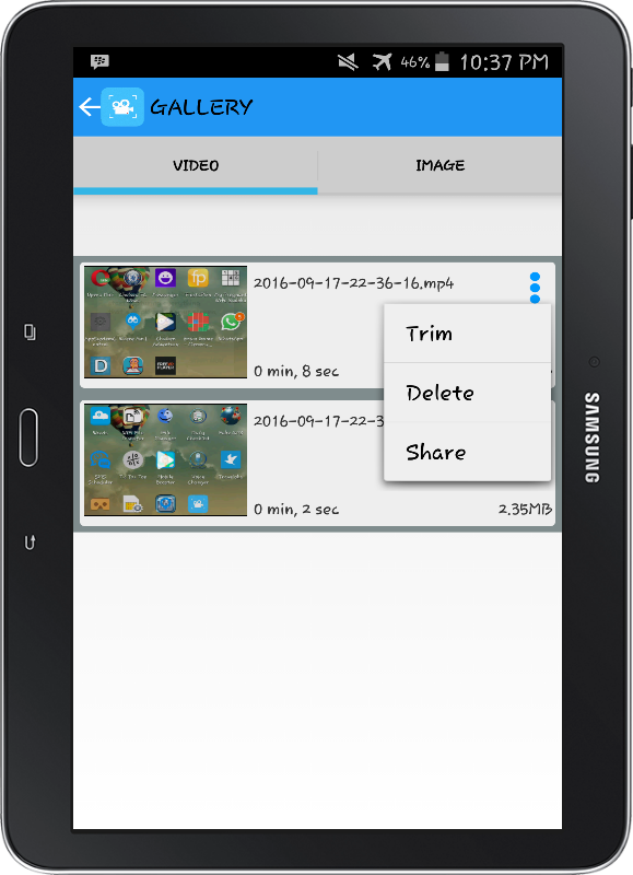 Screen Recorder NO ROOT PRO Screenshot 6