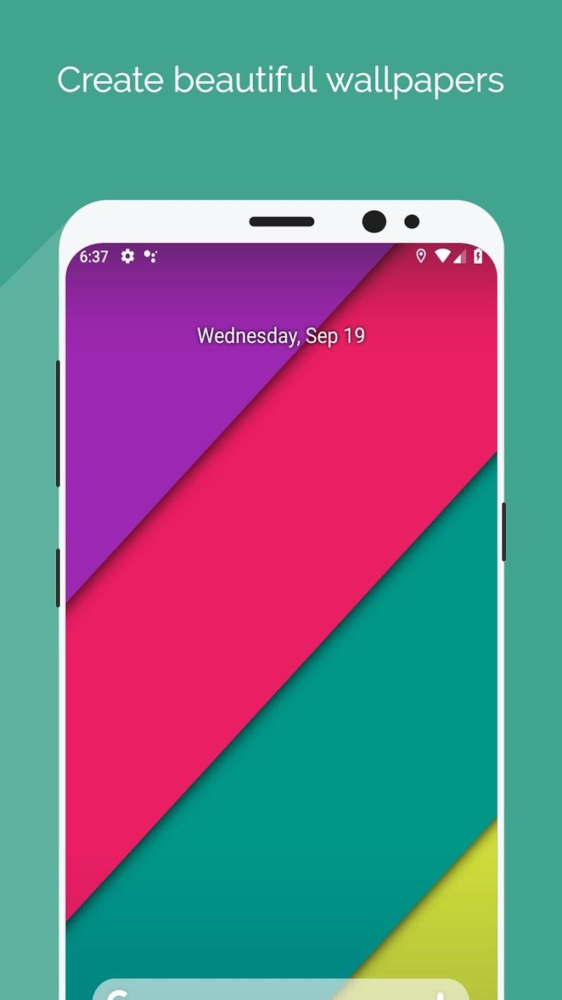 Wallpaper Maker - Best Plasma Gradiant background Screenshot 2