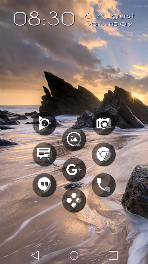 Naz Transparency - Icon Pack Screenshot