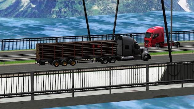 Truck Simulator 2015 apk screenshot