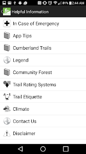 TrailMapps: Cumberland- screenshot