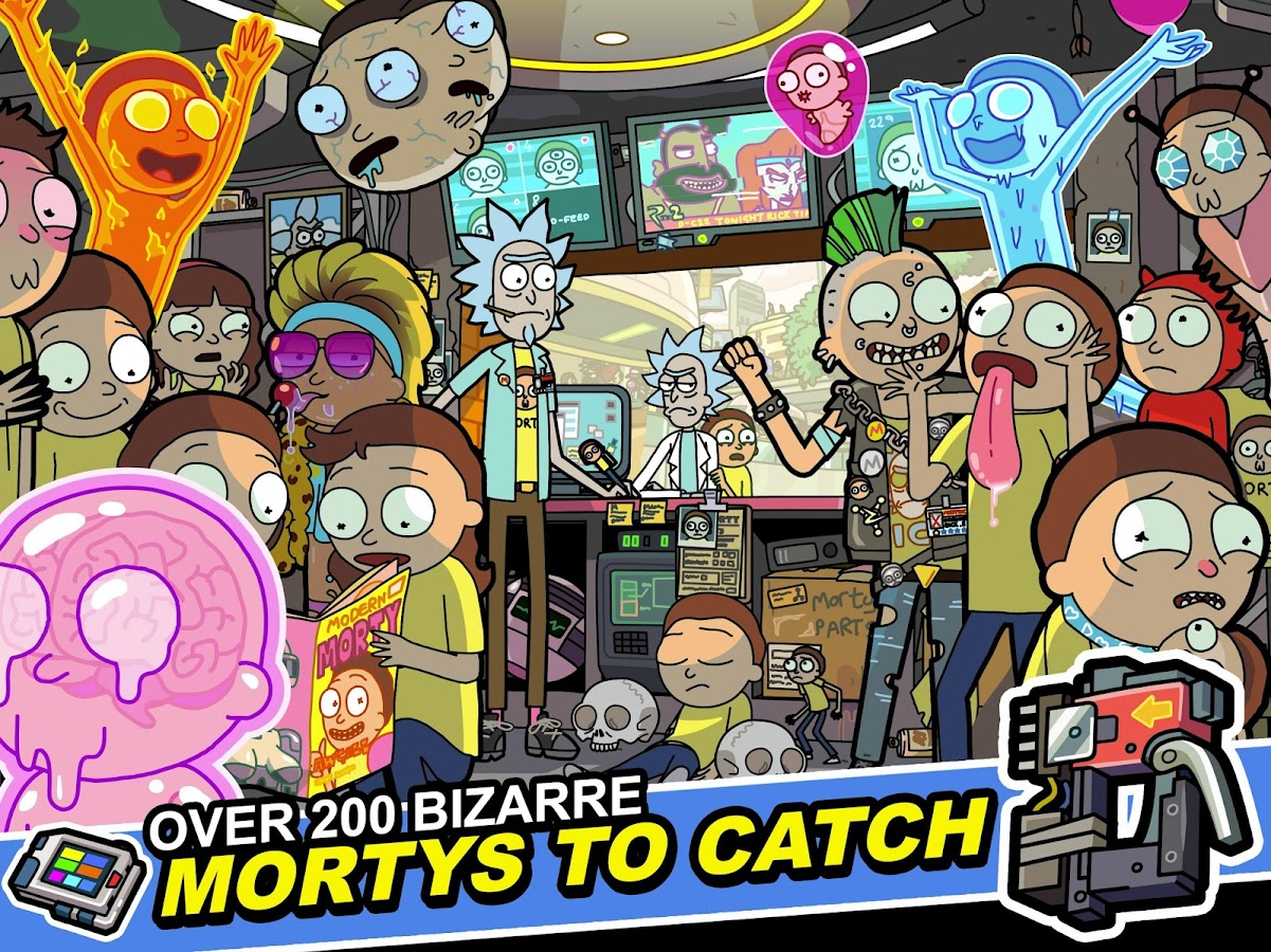 Pocket Mortys Screenshot 8