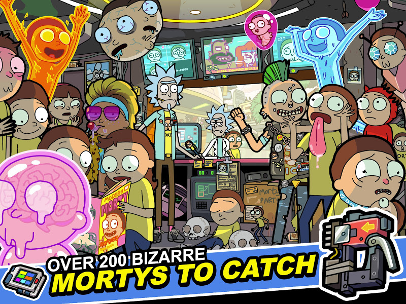 Rick and Morty: Pocket Mortys Screenshot 9