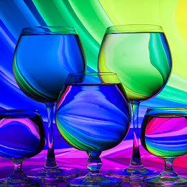 Fantasy Land by Rakesh Syal - Artistic Objects Glass (  )