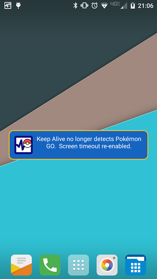 Keep Alive for Pokémon GO Screenshot 7