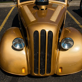 Gold Nugget by Mike Despot - Transportation Automobiles ( idaho, boise, classic cars, show and shine, custom cars, sdespot, despotphotos, blind, classic, custom )