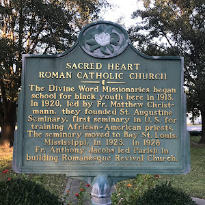 The Divine Word Missionaries began school for black youth here in 1913. In 1920, led by Fr. Matthew Christmann, they founded St. Augustine Seminary, first seminary in U. S. for training ...