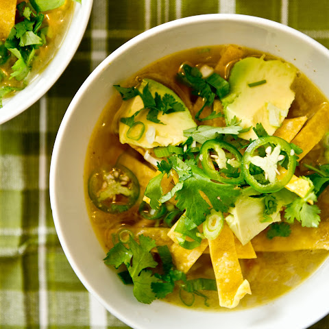 Turkey Soup With Lime and Chile
