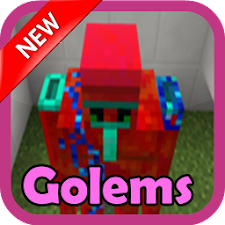 Golems MOD for MCPE*