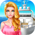 Game Luxury Boat Party! Girls Salon APK for Windows Phone