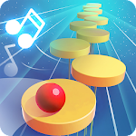 Splashy Tiles: Bouncing to the Beat Icon