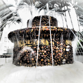 Fountain  by Jo Soule - Artistic Objects Other Objects