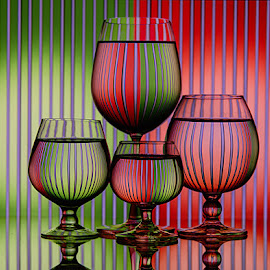 Bars Behind by Rakesh Syal - Artistic Objects Glass