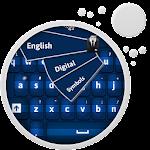 Blue Keyboard Icon