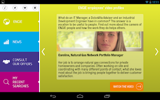 Screenshot of ENGIE Careers