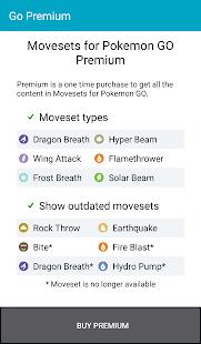 App Movesets for Pokemon GO APK for Windows Phone