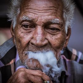 by Chittaranjan Bhat - People Portraits of Men