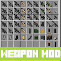 Weapon mod for minecraft