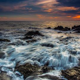 Bleeding by Arek Embongan - Landscapes Sunsets & Sunrises