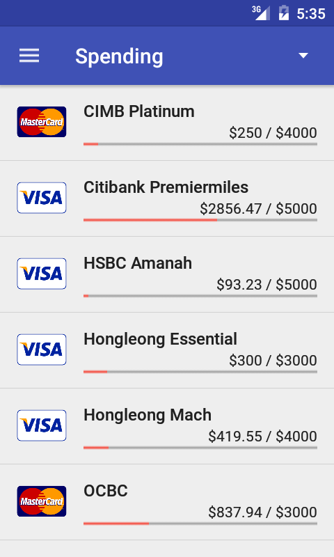 Credit Card Manager Pro Screenshot 3