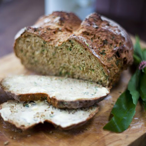 Donal's wild garlic Irish soda bread