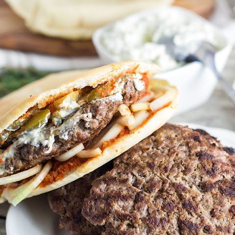 Pljeskavica - Traditional Serbian Burger