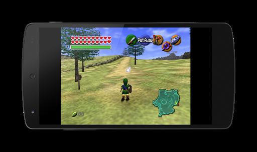 MegaN64 (N64 Emulator) screenshot 1