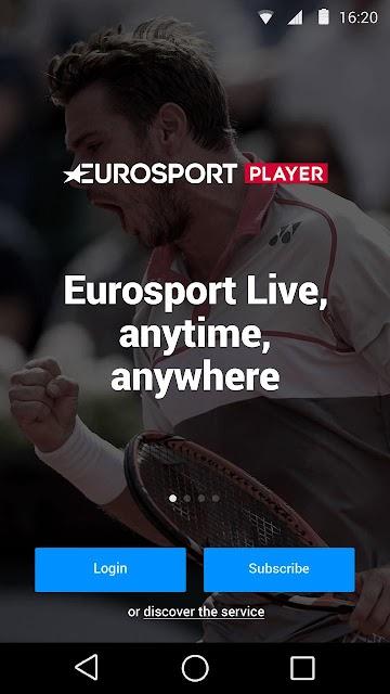 Eurosport Player screenshots