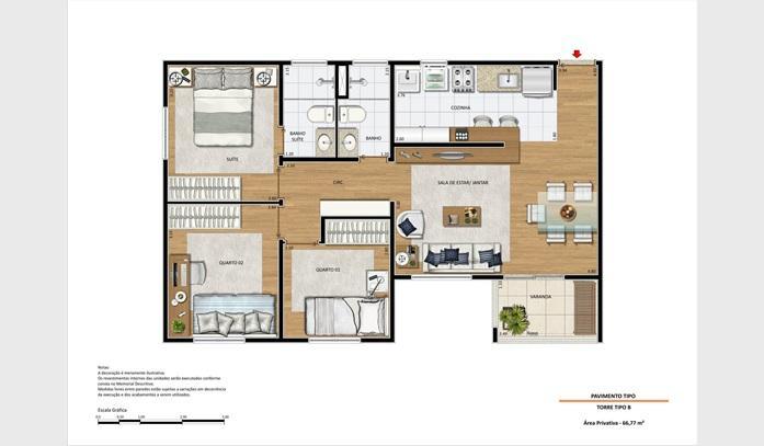 Apartamento Parque Euclides Miranda | D.Lange Imóveis em Campinas