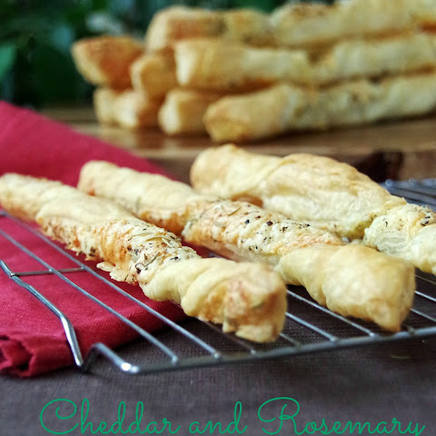 Rosemary and Cheddar Cheese Straws